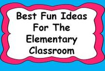 * Best Fun Ideas for the Elementary Classroom / Let's fill this board with ideas that would be fun to try out in the classroom!  If you would like to join: let me know on this thread http://www.teacherspayteachers.com/forum/viewtopic.php?id=40871
