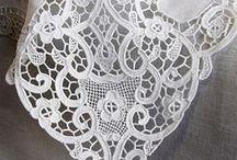 Haft Richelieu, angielski, ażurowy / hafty ażurowe