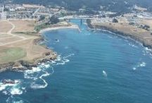 In and around Fort Bragg. / Local beaches, parks and spots along the Mendocino Coast.