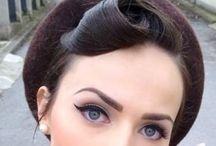hair-do and make-up...