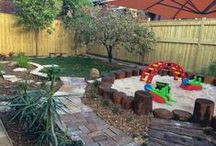 Back Yard Playgrounds / We are often asked if we do residential work. The short answer...YES! If you are considering a natural playground for your backyard, we'd love to help! But before we can do that, we need a few answers from you first. 1 - How old are your children and 2 - How large is the space you'd like to transform? Your answers can help us determine the best way to make your natural playground a reality. Give us a call at 603-228-0476.