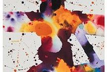 Sam Francis-Stained Glass (et Art du vitrail)