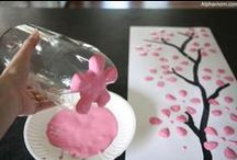 DIY Paint Projects / Fun projects for the DIY'er or for kids activities with the needed supplies.