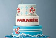 Endless Summer / Cute fun in the sun, summer cakes, cupcakes, cake pops and more for inspiration