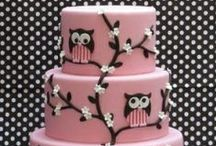 What a Hoot! / Owl themed Cakes and Treats