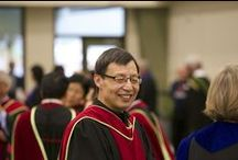 Convocation / Thousands of Athabasca University graduates coming from around the world to walk across the stage and spend a day with us at convocation.