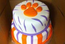 Team Spirit / Favorite Sports Teams Cakes including Clemson Tigers, Carolina Gamecocks and more!