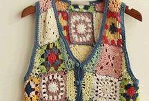Crochet Chaquetas/Chalecos / by Cesira Garza Gonzalez
