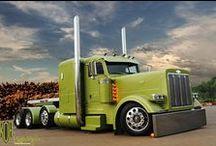 Show and Shine Semi Trucks / The craziest custom big rigs on the web