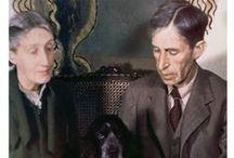 """La morte di Virginia Woolf / «Non penso che due persone avrebbero potuto essere più felici di come lo siamo stati noi». """"La morte di Virginia"""", Leonard Woolf, trad. Paola Quarantelli, Lindau 2015."""