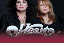 Heart, Ann & Nancy Wilson / My all time favorite band, I saw them in concert with Cheap trick  in  Seattle  / by LeaAnn Swinney
