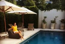 Pool Furniture / What's a beautiful new pool without some amazing furniture to sit on while admiring it?
