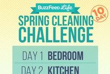 Spring Cleaning 2016 / Products, techniques and checklists for spring cleaning your home