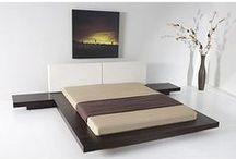 호텔 객실 / 호텔 내부 객실 침대 조명 디자인