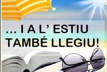 A l'estiu, també llegiu! / Suggeriments de lectura · Estiu·