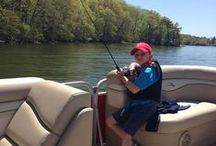 Let's Go Fishing / Few things in life are more relaxing than a day spent fishing. Get fishing tips, tricks and advice here. / by Bennington Pontoons
