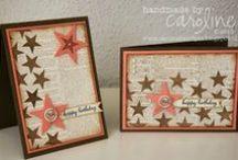 KAARTEN MET STERREN / STAR CARDS