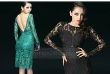 Womens' Dress /  high-quality and low-price latest fashionable women's clothing. / by http://www.fashion24hours.com/