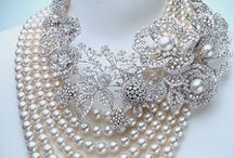 Crystal and pearls