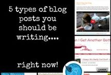 Be All the Blogger You can Be / Helpful articles and posts for better blogging