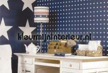 Stars & Stripes interieur creeeren. / Behang, fotowanden en gordijnen met sterren en strepen. Creëer je eigen Stars & Stripes interieur met deze wanddecoraties.