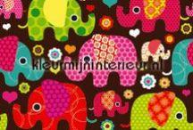 Inspiratie voor de wanden van de kinderkamer / Inspiratie voor de wanden van de kinderkamer. Stickers, behang, gordijnen en fotowanden