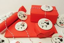 Festive Buttons! / A collection of Buttons and ideas for your favorite Holiday!
