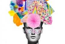 Fashion moodboards & sketchbooks