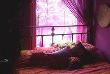 Pink lavender & coral /