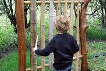 Childrens Outdoor Play / There are so many creative ways to keep the kids occupied in the garden. have a look at all these ideas.