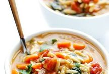 Homemade Soup Recipes / Best homemade healthy gluten free, vegan and dairy free soup recipes. Eat easy homemade soups with these quick and delicious health recipes. Slow cooker soups, cold and hot, cream, vegetable and seasonal!