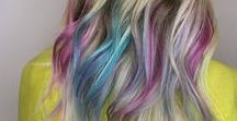 Fashion, Bold, or Vivid Hair Colors / Colorful Hair