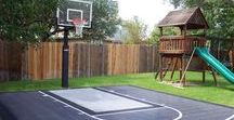Concrete Basketball Courts / How to create a concrete basketball court. Intermountain Concrete Specialties is a leading distributor of concrete supplies, products, and equipment in the Intermountain West / Utah and Idaho.