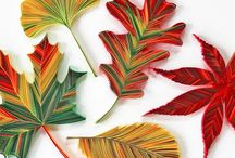 Quilling - Leaves