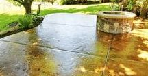 Home Improvement Tips / Improve your home's value with tips from Intermountain Concrete Specialties. Whether designing decorative concrete flooring, creating a backyard oasis or a major kitchen remodel, you can DIY your way to better ROI.