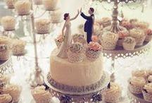 Wedding Cake Inspiration / Wedding cake & cup cake ideas