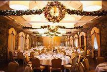 Christmas Weddings at Ballymagarvey Village / Photos of our beautiful Christmas weddings.