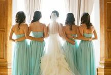 A Hint of mint! / Mint themed weddings are set to be popular in 2014 and look great for Summer wedding. Here are some ideas for this lovely theme.