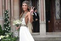 Celebrity Wedding Dresses / Inspiration from the stars!