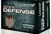Civil Defense / Liberty Ammunition Civil-Defense ammunition is the world's fastest handgun ammunition with velocity of greater than 2,000 feet per second, near double that of any major competitor. The rounds utilize Liberty's patented high performance, lead–free technologies, born from Liberty's military ammunition and work with Special Operations unit superior range, accuracy, and stopping power, with a dramatic reduction in felt recoil allowing for quicker follow up shots on target. / by Liberty Ammunition