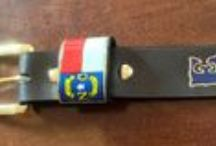 Custom Radio Straps / A few custom radio straps that I have made