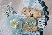 baby cards / baby card creations