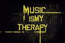 ♬♩Music is my therapy ♬♩ / Music, the only thing that's  keeping sane right now.  / by Khadijah Clemente