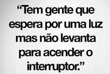 Citações / by Fabi Santos