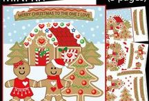 My Christmas Designs / My Christmas designs on Craftsuprint. Most of them have a matching insert and can be purchased as download, printed product or even sometimes finished card from Craftsuprint. Please click on them for details.