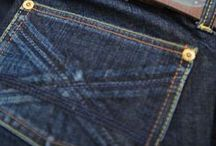denim and sewing details