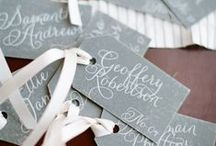 Place Cards / Creative & unique place card settings for your wedding!