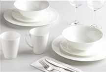 It's All White! / Clean, crisp and bright - white is a common choice among homewares.