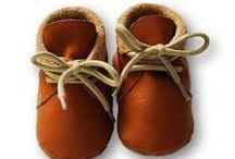 ekoTuptusie - mokasynki Leather Baby Shoes Moccassins Laces / Sznurowane buciki wykonane ze 100% włoskiej skóry naturalnej, z wkładeczką filcową dostępne w dwóch rozmiarach S i M.  Sweet leather shoes with Laces Moccassins :)