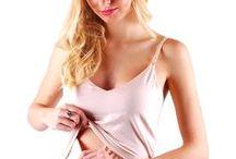 Top do karmienia MALKA Nursing Vest / Top do karmienia MALKA, niezastąpiona rzecz przy karmieniu dziecka, aby w każdym miejscu czuć się komfortowo i wygodnie. Wykonany z bawełny, dostępny w trzech kolorach: czarny, biały i cielisty.